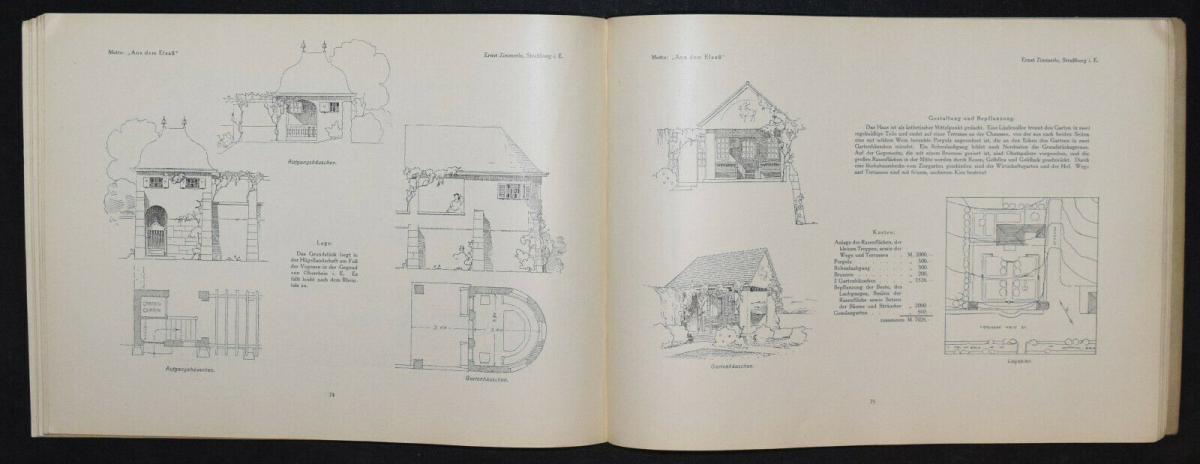 Hausgärten - 1908 - Gartenarchitektur - Gärten - Gartenbau 6