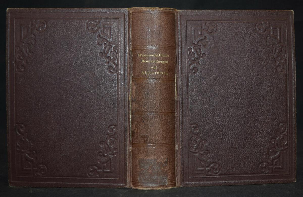 ALPEN-REISEN 1882 - Anleitung zu wissenschaftlichen Beobachtungen.. - Alpinistik 10