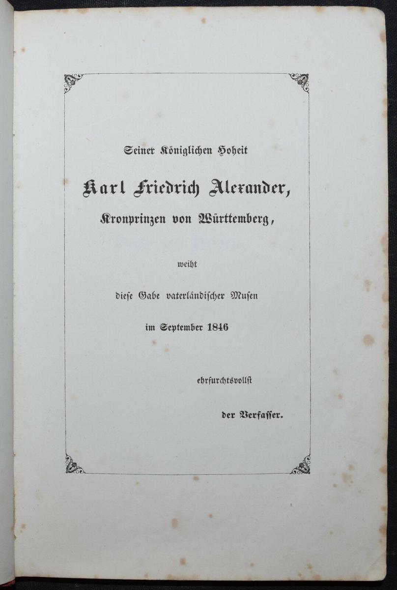 EDUARD MÖRIKE - IDYLLE VOM BODENSEE - 1846 - ERSTE AUSGABE 2