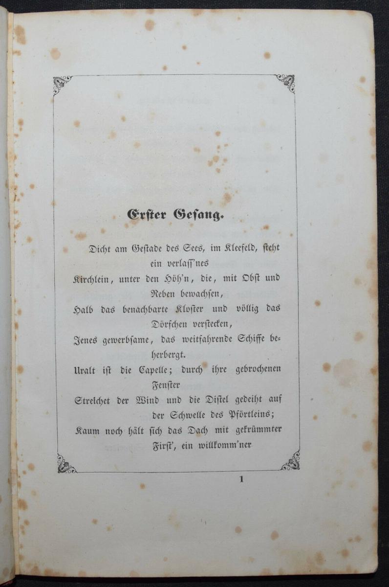 EDUARD MÖRIKE - IDYLLE VOM BODENSEE - 1846 - ERSTE AUSGABE 3