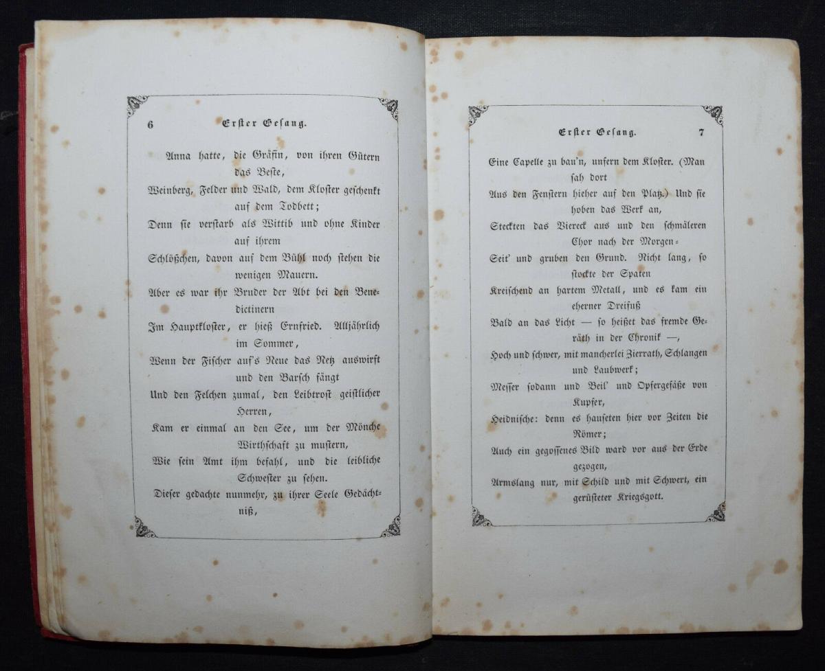 EDUARD MÖRIKE - IDYLLE VOM BODENSEE - 1846 - ERSTE AUSGABE 4