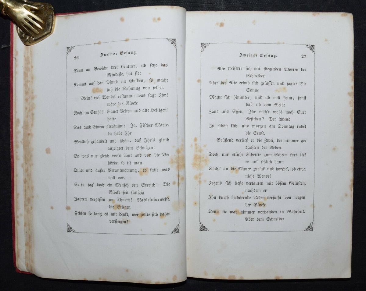 EDUARD MÖRIKE - IDYLLE VOM BODENSEE - 1846 - ERSTE AUSGABE 5