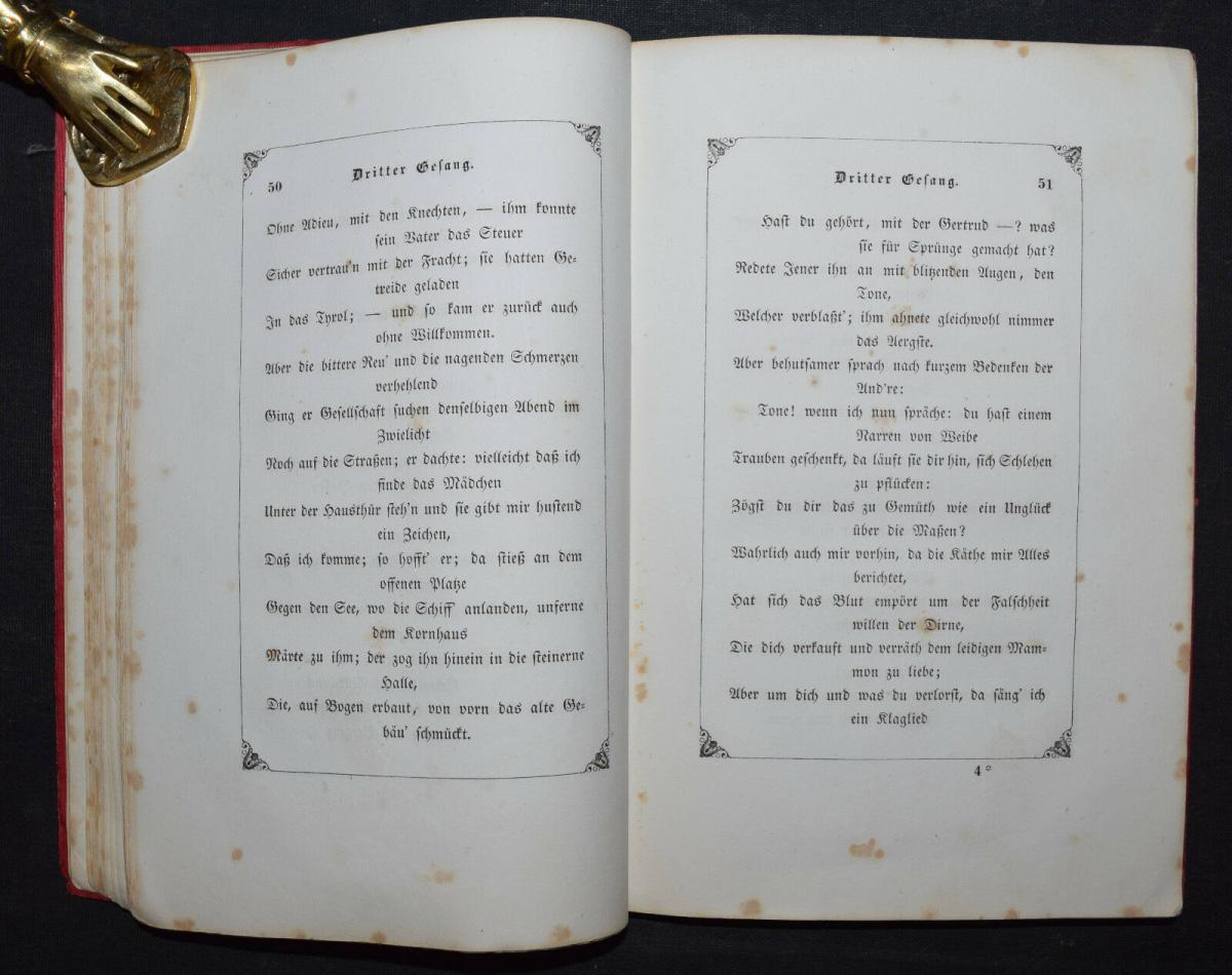 EDUARD MÖRIKE - IDYLLE VOM BODENSEE - 1846 - ERSTE AUSGABE 6
