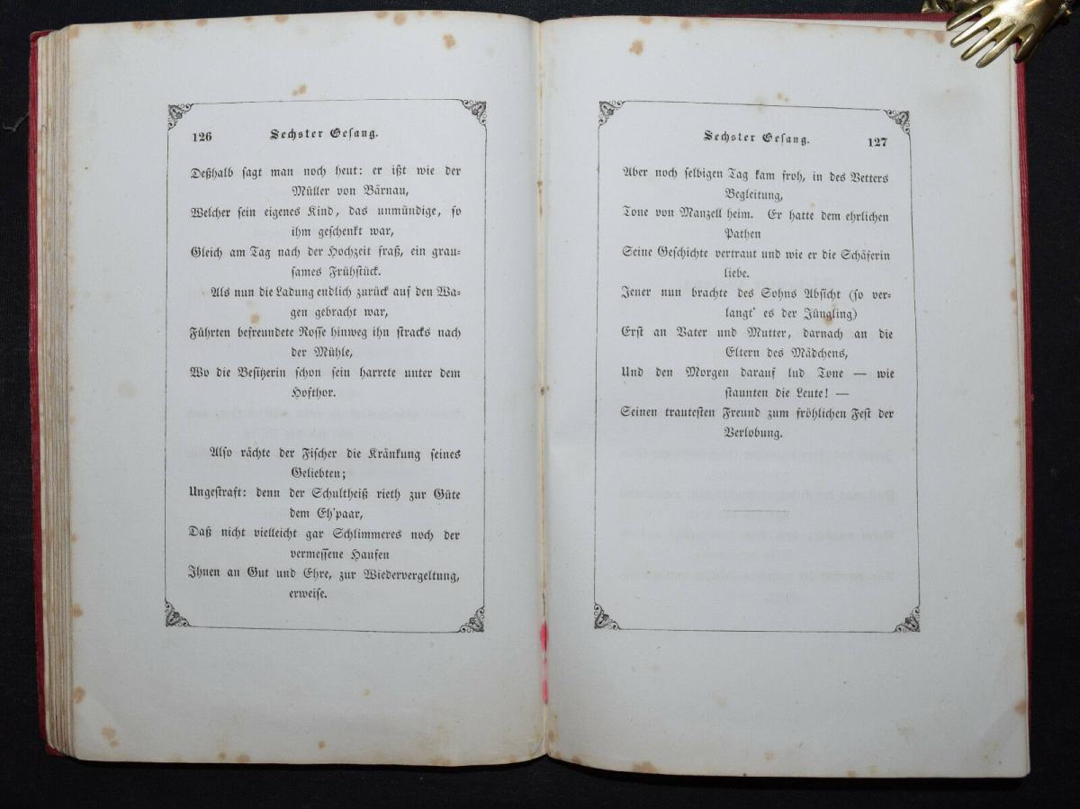 EDUARD MÖRIKE - IDYLLE VOM BODENSEE - 1846 - ERSTE AUSGABE 7