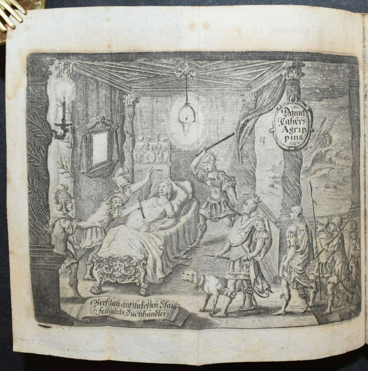 CLEOPATRA - DANIEL LOHENSTEIN - SAMMELBAND 1679 - 1724 - THEATERSTÜCKE - DRAMEN 0