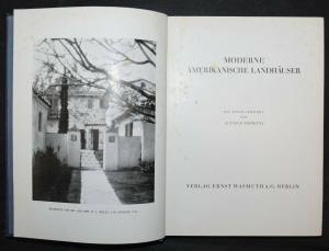 HOPKINS - MODERNE AMERIKANISCHE LANDHÄUSER - 1926 - AMERIKA - HÄUSER