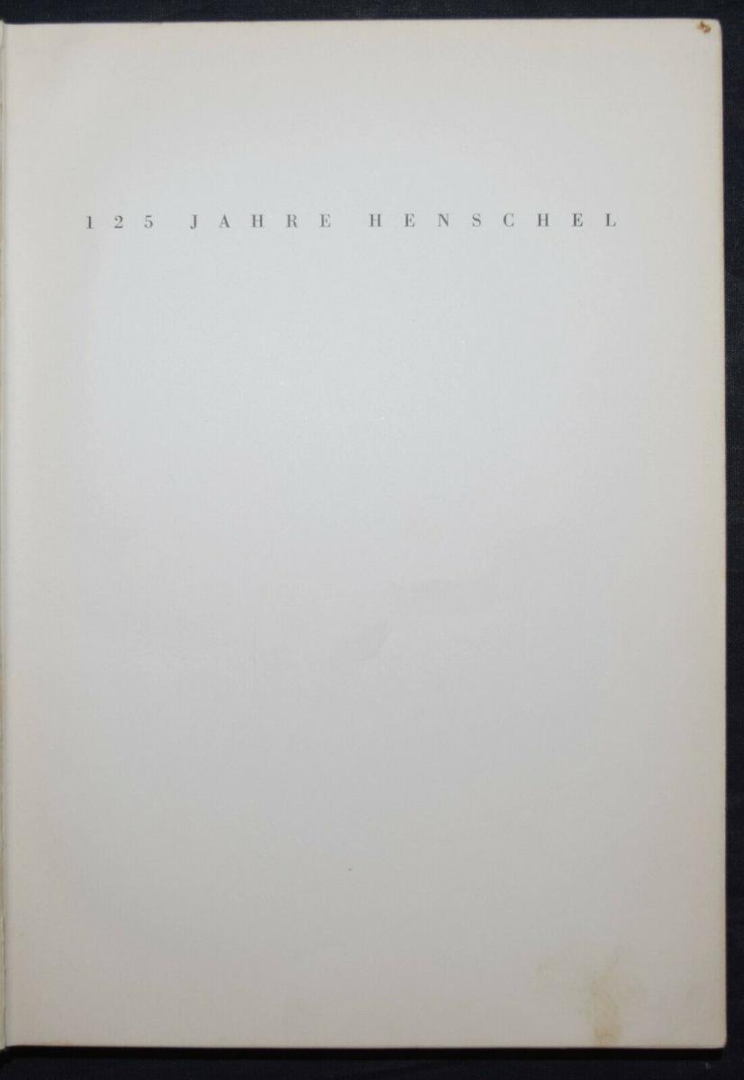 EISENBAHN - 125 JAHRE HENSCHEL - 1935 11