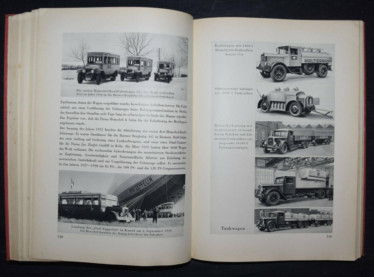 EISENBAHN - 125 JAHRE HENSCHEL - 1935 5