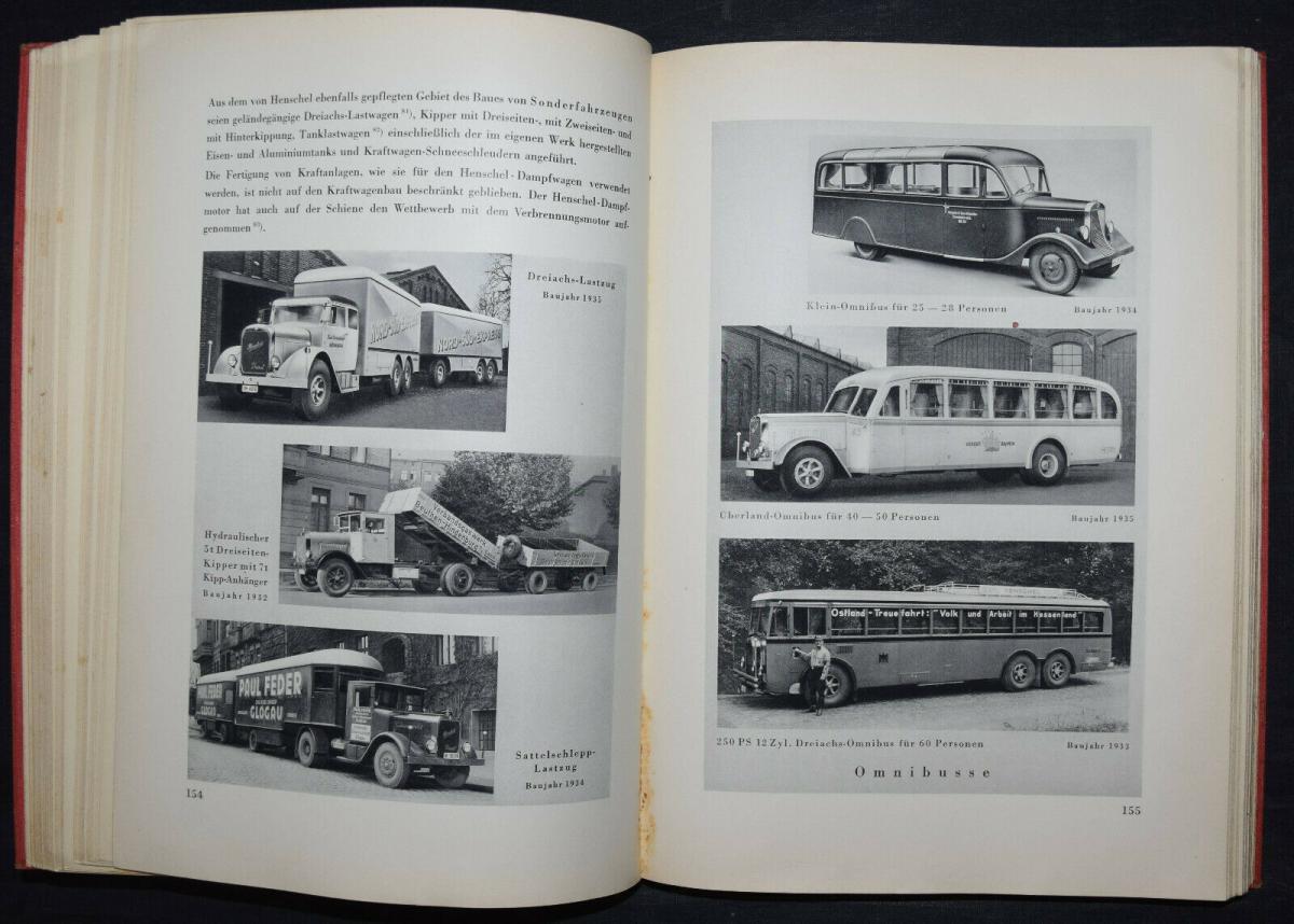 EISENBAHN - 125 JAHRE HENSCHEL - 1935 6