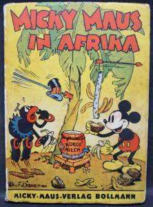 DISNEY - MICKY MAUS IN AFRIKA. ZÜRICH 1936 BOLLMANN