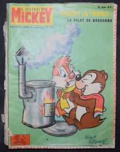 DISNEY, LE JOURNAL DE MICKEY ZEITSCHRIFTEN 17 HEFTE IN 1 BAND 1965-66