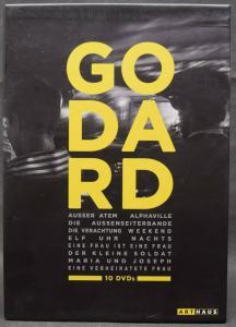 Godard – 10 DVDs