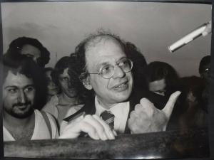 BEAT GENERATION – ALLEN GINSBERG ORIG.-PORTRÄTPHOTO VON MIMMO CHIANURA. ROM 1979