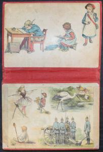 LEPORELLO ALBUM - SELTENES KLEINKIND-BILDERBUCH UM 1910