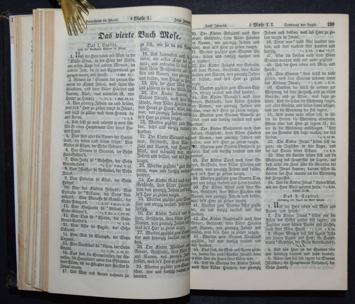 BIBLIA GERMANICA – DIE BIBEL ODER DIE GANZE HEILIGE SCHRIFT - UM 1845 10