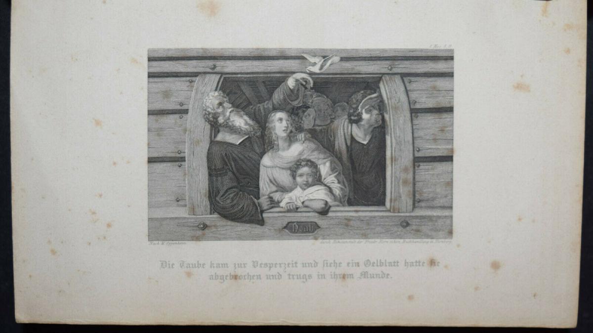 BIBLIA GERMANICA – DIE BIBEL ODER DIE GANZE HEILIGE SCHRIFT - UM 1845 7