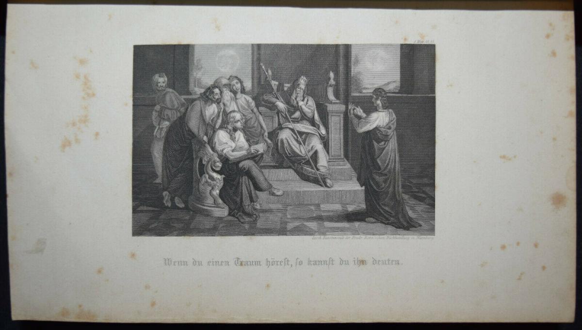 BIBLIA GERMANICA – DIE BIBEL ODER DIE GANZE HEILIGE SCHRIFT - UM 1845 8