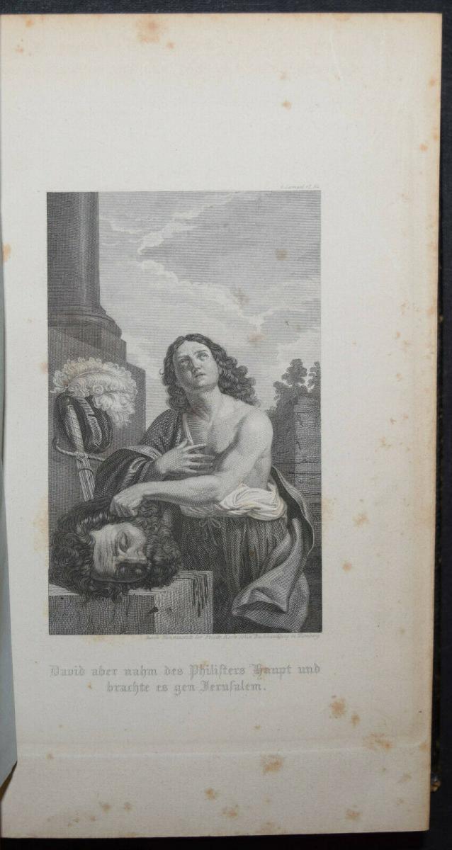 BIBLIA GERMANICA – DIE BIBEL ODER DIE GANZE HEILIGE SCHRIFT - UM 1845 9