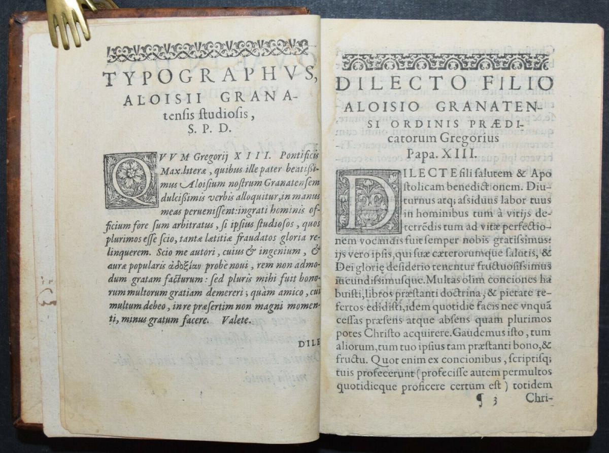 Luis di Granada - Silva locorum - 1586 2