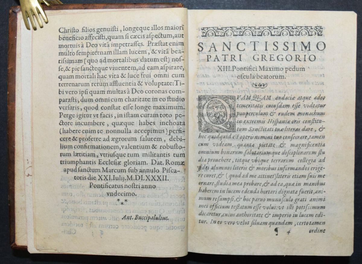 Luis di Granada - Silva locorum - 1586 3