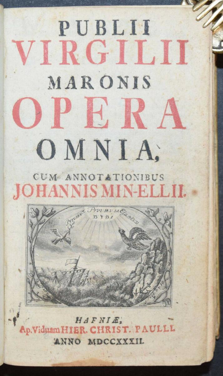 PUBLIUS MARO VIRGILIUS - OPERA OMNIA - 1732 - ALTPHILOLOGIE - ANTIKE 0