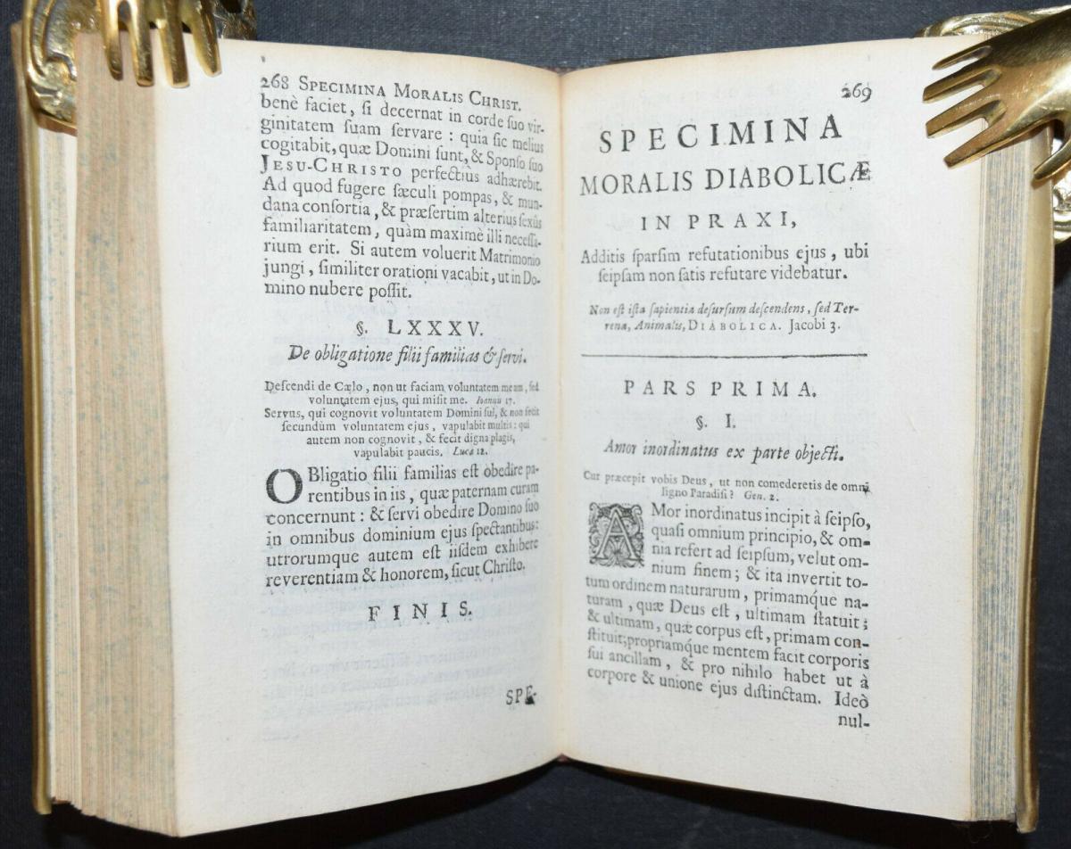 AEGIDIUS GABRIELIS - SPECIMINA MORALIS CHRISTIANÆ - ERSTAUSGABE 1675 6
