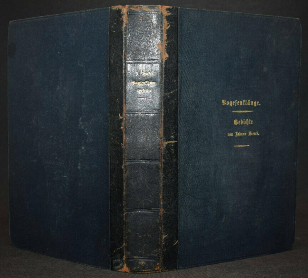 JOHANN BRESCH - VOGESENKLÄNGE - ORIGINAL-MANUSKRIPT 1887 -  ELSASS - HANDSCHRIFT 1