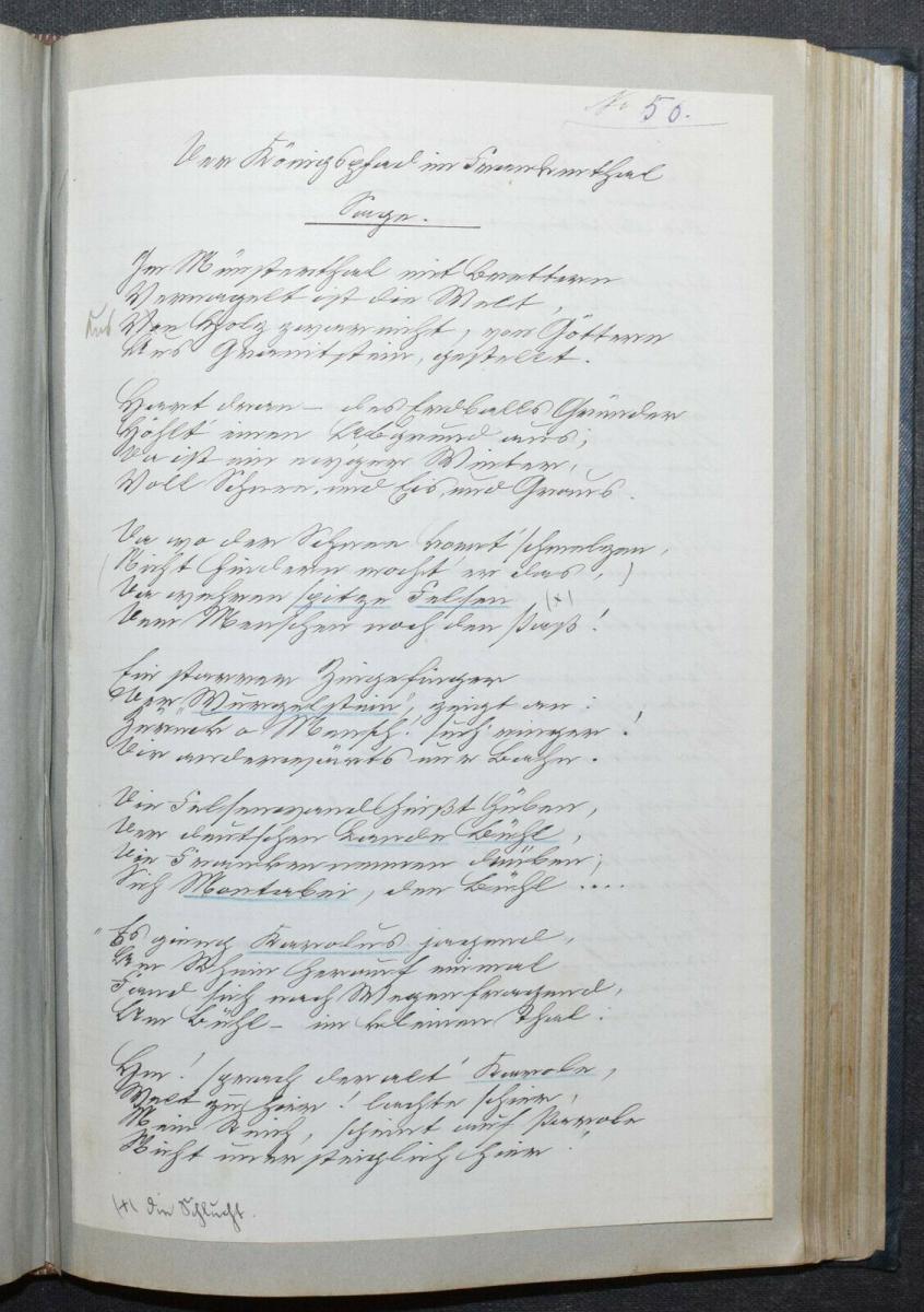 JOHANN BRESCH - VOGESENKLÄNGE - ORIGINAL-MANUSKRIPT 1887 -  ELSASS - HANDSCHRIFT 9