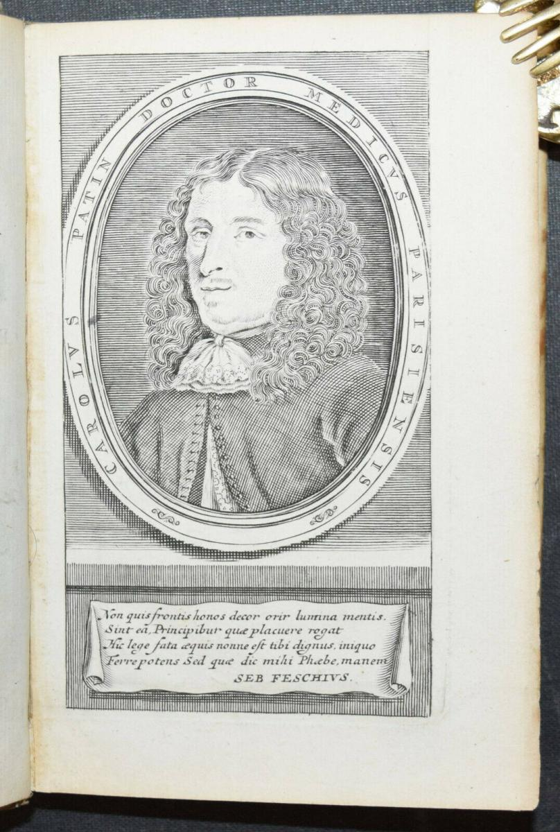 CHARLES PATIN - RELATIONS HISTORIQUES ET CURIEUSES WADE VOYAGES - 1695 - REISE 2
