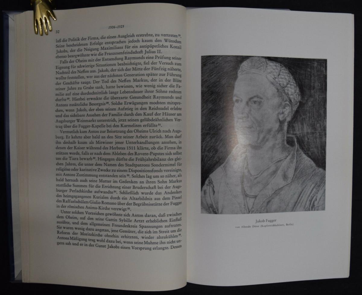 Anton Fugger - Die letzten Jahre - Handelsgeschichte - Biographie - G.Pölnitz 2