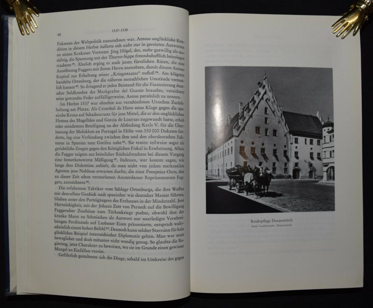 Anton Fugger - Die letzten Jahre - Handelsgeschichte - Biographie - G.Pölnitz 5