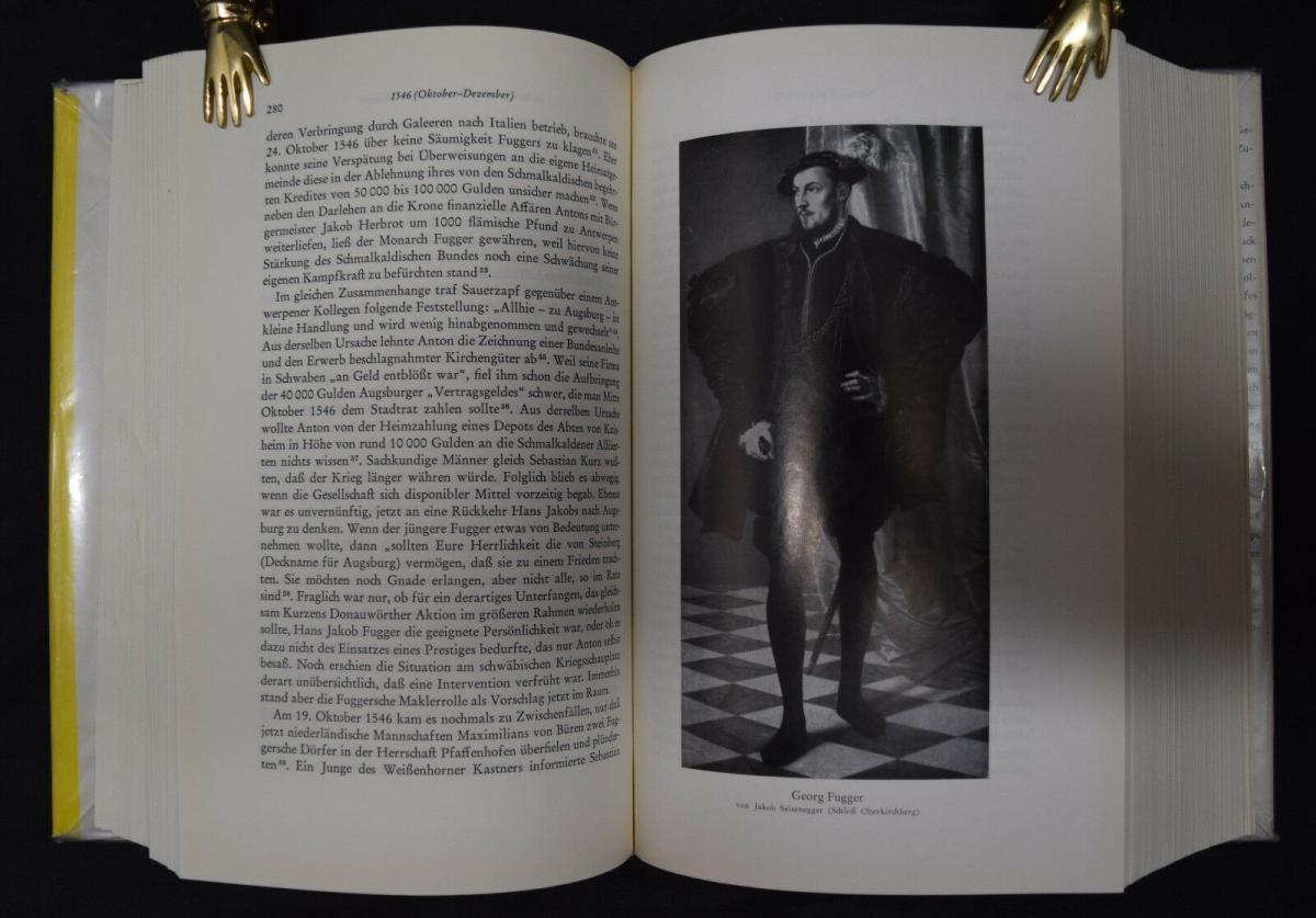 Anton Fugger - Die letzten Jahre - Handelsgeschichte - Biographie - G.Pölnitz 7