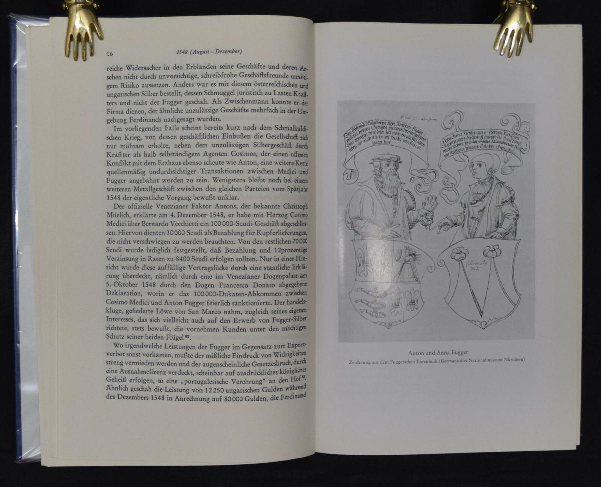 Anton Fugger - Die letzten Jahre - Handelsgeschichte - Biographie - G.Pölnitz 9