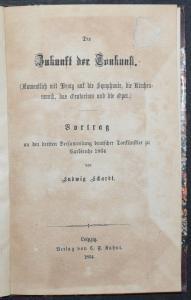 Die Zukunft der Tonkunst - Ludwig Schardt - 1864