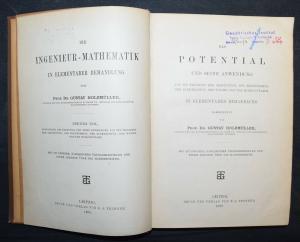 MATHEMATIK - GUSTAV HOLZMÜLLER - DAS POTENTIAL UND SEINE ANWENDUNG  - 1898