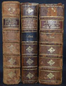 SÜSSMILCH - DIE GÖTTLICHE ORDNUNG - 1761-1776 - SOZIALWISSENSCHAFT - STATISTIK