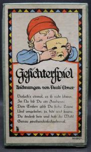 Legespiel um 1925 - Gesichterspiel -  Pauli Ebner - Scholz