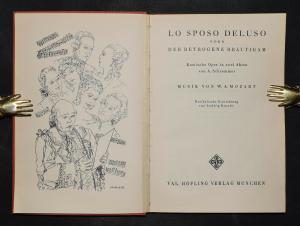 Lo sposo deluso von Wolfgang Amadeus Mozart und A. Schremmer - 1930