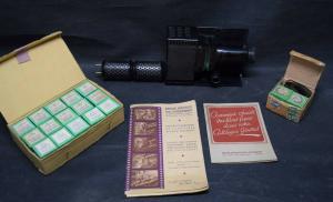 "LATERNA MAGICA – PROJECTEUR ""BABYSTAT"" 1945  FILMPROJEKTOR"