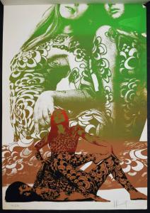 Signiert Horst Mundschitz - Wandkalender - Siebdrucke - Body Paintings - 1971-73