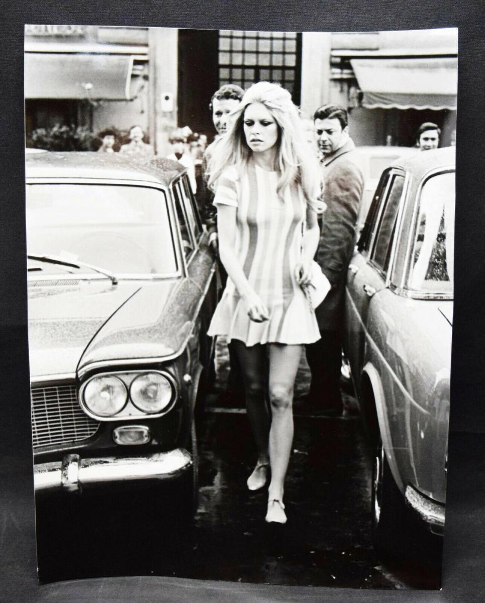 Brigitte Bardot, Original-Vintage-Photographie von Vittorio la Verde ROM 1969 0