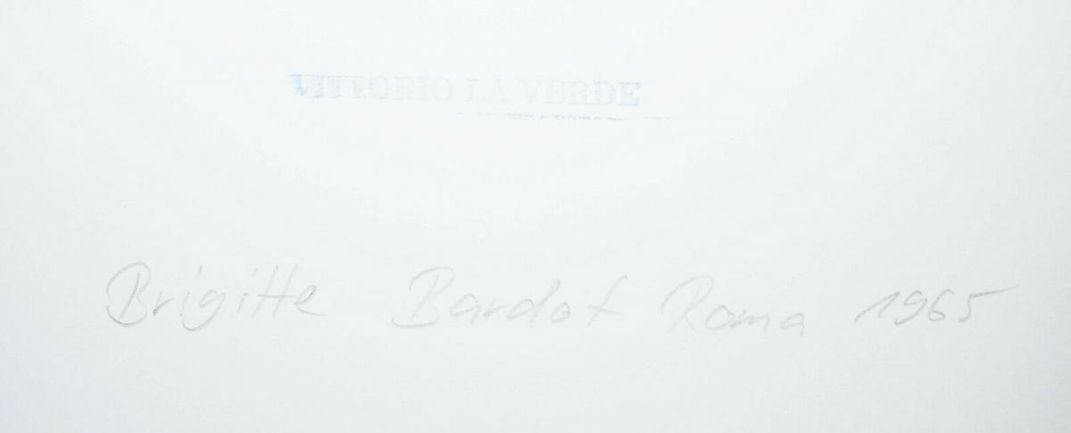 Brigitte Bardot, Original-Vintage-Photographie von Vittorio la Verde ROM 1969 1