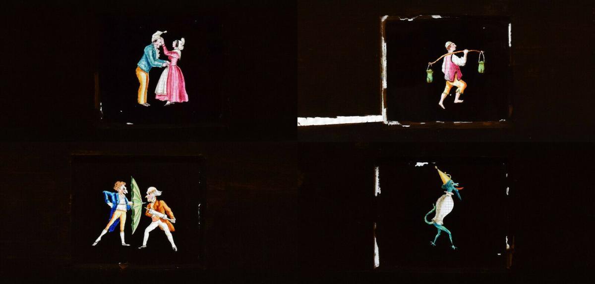 LATERNA MAGICA – HELIOSCOPIC LATERN um 1860 - GLAS-DIAS PROJEKTOR PROJECTOR 10