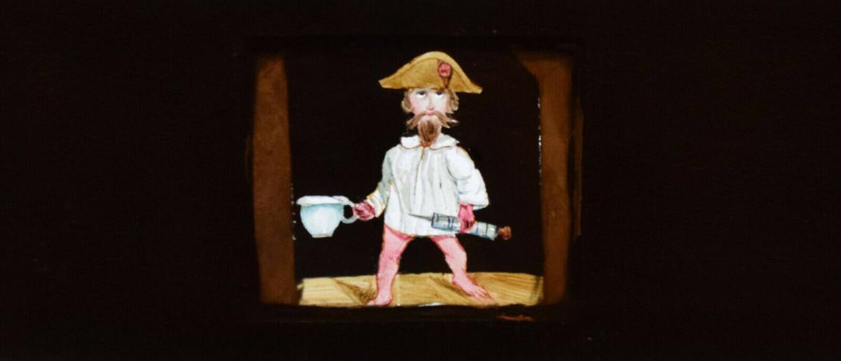 LATERNA MAGICA – HELIOSCOPIC LATERN um 1860 - GLAS-DIAS PROJEKTOR PROJECTOR 8