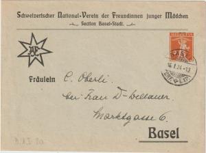 Schweiz: Privatganzsachen-Umschlag