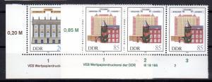 DDR, 275 Jahre Charité mit DV, postfrisch