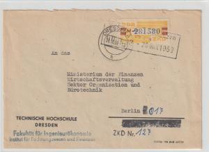 ZKD-Brief mit korrigierter Anschrift