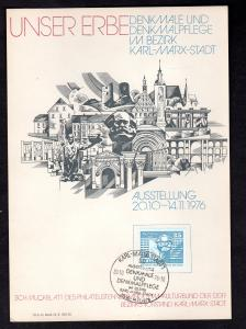 DDR-Gedenkblatt, Unser Erbe B 16a-1976