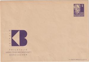 DDR Privatganzsache PU 1 (