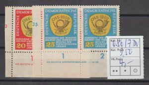 DDR-Druckvermerke: Postkonferenz DV